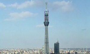停止中:第一ホテル両国 スカイツリーライブカメラと雨雲レーダー/東京都墨田区