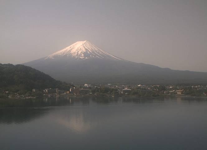勝山 富士山ライブカメラと気象レーダー/山梨県富士河口湖町