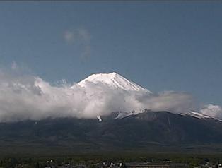 富士山 麓ライブカメラと気象レーダー/山梨県富士吉田市