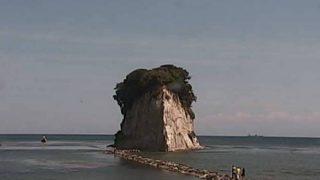 見附島公園 見附島ライブカメラと雨雲レーダー/石川県珠洲市