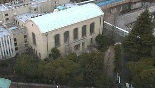 早稲田大学・早稲田キャンパスライブカメラと雨雲レーダー/東京都新宿区