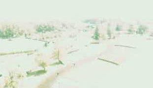 赤坂台総合公園展望塔(北側) ドラゴンパークライブカメラと気象レーダー/山梨県甲斐市