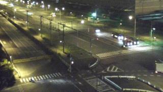 東京湾 コンテナターミナル周辺がみえるライブカメラと気象レーダー/東京都江東区
