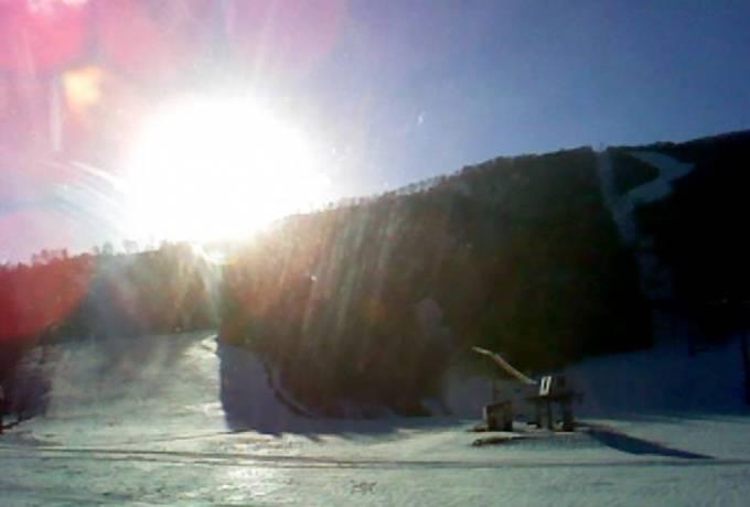 夏油高原スキー場ライブカメラと雨雲レーダー/岩手県北上市