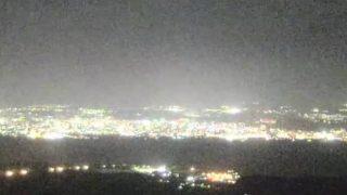 湯之平展望所からの街の様子 ライブカメラと気象レーダー/鹿児島県鹿児島市