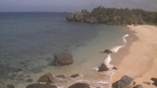 与論島からみえる沖縄本島ライブカメラと雨雲レーダー/鹿児島県奄美郡