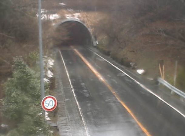国道136号 船原トンネルライブカメラと雨雲レーダー/静岡県伊豆市