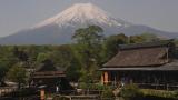 忍野八海池本 富士山ライブカメラと気象レーダー/山梨県忍野村