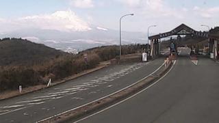 箱根スカイラインから見える富士山ライブカメラと気象レーダー/静岡県御殿場市