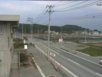 停止中:志津川周辺の復興状況ライブカメラと気象レーダー/宮城県南三陸町