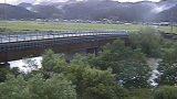 能代川と新千歳橋ライブカメラと雨雲レーダー/新潟県五泉市