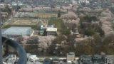霞城公園(山形城跡)ライブカメラと雨雲レーダー/山形県山形市
