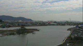 石巻市北上川河口周辺の復興状況ライブカメラと雨雲レーダー/宮城県石巻市