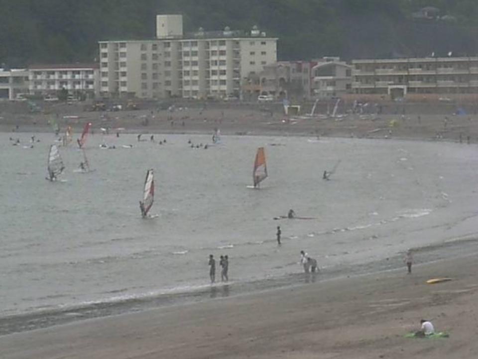 逗子海岸ライブカメラと雨雲レーダー/神奈川県逗子市