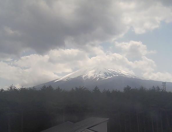 生物多様性センター 富士山ライブカメラと気象レーダー/山梨県富士吉田市