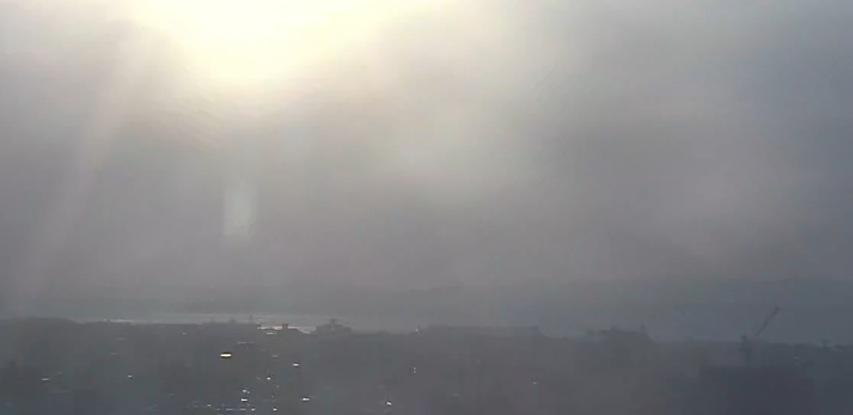 首里城からの眺めライブカメラと雨雲レーダー/沖縄県那覇市