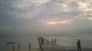 竹富島の西桟橋ライブカメラと雨雲レーダー/沖縄県八重山諸島