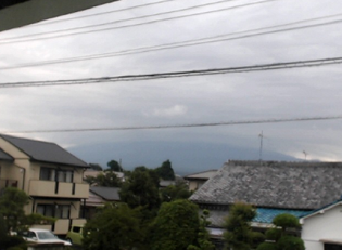 田子ノ浦港付近から見える富士山ライブカメラと雨雲レーダー/静岡県富士市