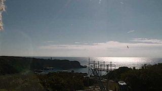 潮岬風力実験所の周辺の海ライブカメラと気象レーダー/和歌山県串本町