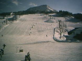 雪だるま高原 キューピットバレイのゲレンデライブカメラと雨雲レーダー/新潟県上越市