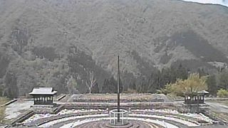 瞑想の郷ライブカメラと雨雲レーダー/富山県南砺市