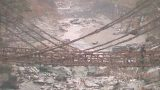 かずら橋ライブカメラと雨雲レーダー/徳島県三好市