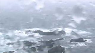 沢崎鼻灯台ライブカメラと雨雲レーダー/新潟県佐渡市