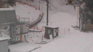 井川スキー場腕山ふもとライブカメラと雨雲レーダー/徳島県三好市