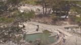 草津温泉 西の河原 ライブカメラ(露天風呂入り口)と気象レーダー/群馬県草津町