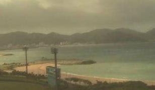 21世紀の森付近ライブカメラと雨雲レーダー/沖縄県名護市