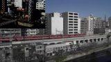 大岡川・東急本線ライブカメラと気象レーダー/神奈川県横浜市