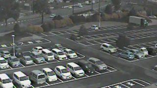 停止中:グランメッセ熊本の駐車場ライブカメラと気象レーダー/熊本県益城町