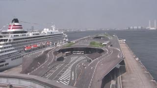 横浜港大さん橋国際客船ターミナル ライブカメラと気象レーダー/神奈川県横浜市