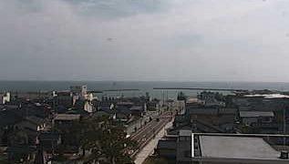 珠洲市役所周辺ライブカメラと雨雲レーダー/石川県珠洲市