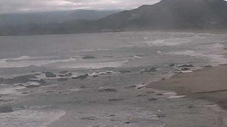 浮鞭ビーチライブカメラと気象レーダー/高知県黒潮町