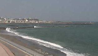 停止中:アクアワールド大洗水族館の海岸ライブカメラと雨雲レーダー/茨城県大洗町