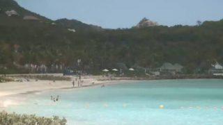 サン・バルテルミー島のトムビーチライブカメラ/フランス