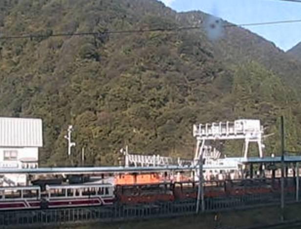 停止中:黒部峡谷トロッコ電車ライブカメラと気象レーダー/富山県黒部市