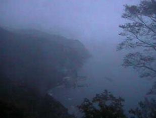 佐井村仏ヶ浦展望台の周辺ライブカメラと気象レーダー/青森県佐井村