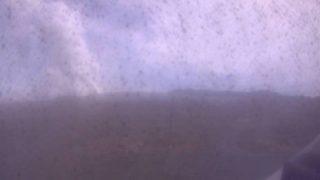 阿蘇山ライブカメラ(京都大学火山研究センター)(3ヶ所)と気象レーダー/熊本県