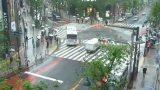 渋谷モディ前と神南一丁目Y字路ライブカメラと雨雲レーダー/東京都渋谷区