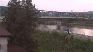 停止中:長良川と山崎大橋ライブカメラと雨雲レーダー/岐阜県美濃市