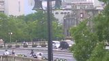 原爆ドームと相生橋(あいおいばし)ライブカメラと気象レーダー/広島県広島市