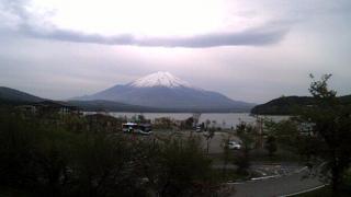 しろがね荘 富士山ライブカメラと気象レーダー/山梨県山中湖村