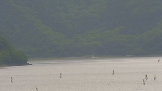 本栖湖ライブカメラと雨雲レーダー/山梨県身延町