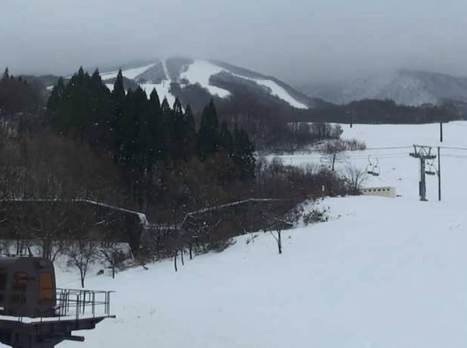たざわ湖スキー場 ライブカメラ(黒森山・駒ケ岳)と気象レーダー/秋田県仙北市