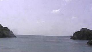 父島・扇浦海岸ライブカメラ2と雨雲レーダー/東京都小笠原村