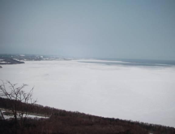北見工業大学の流氷ライブカメラ(7ヶ所)と気象レーダー/北海道