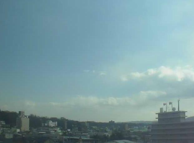 上田市からの日の出ライブカメラと雨雲レーダー/長野県上田市