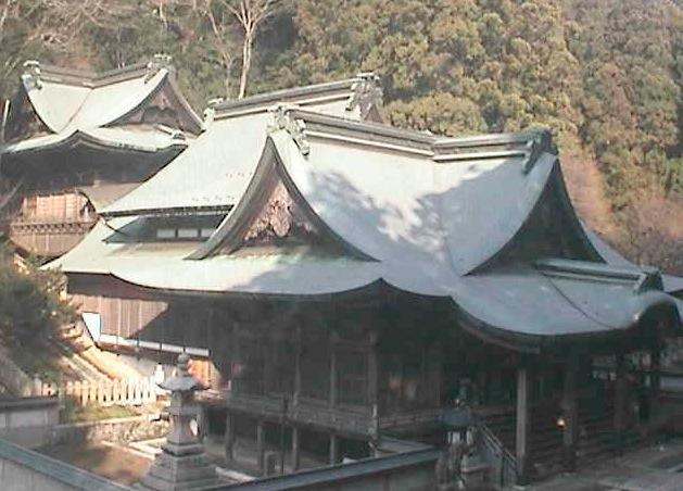 箸蔵寺(本殿)ライブカメラと雨雲レーダー/徳島県三好市